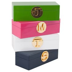Initial jewellery box