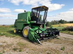 1987 John Deere 1042 Tractor Machine, Harvest Time, Tractors, Vehicles, Rolling Stock, Tractor, Vehicle