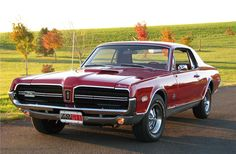 1968 Mercury Cougar GT-E 427. Except for a one off test car, Mustangs never got the race-bred 427. Even Shelby Mustangs had the lesser 428. This is one rare and bad ass car.