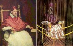 Estudio posterior a Velázquez del retrato del papa Inocencio X. 1953. Francis Bacon.