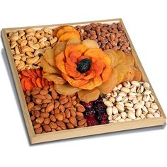 Torn Ranch Rose - Healthy Fruit Gift Baskets - Dried Fruits & Nuts Gift Basket ...Happy Mother's Day!