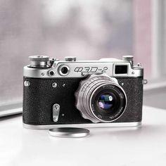 Fed 2 Soviet Rangefinder camera  Vintage by VintageCameraClub, $119.00