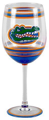 UF Gators By Magnolia Lane Gators Wine Glass | Bealls Florida