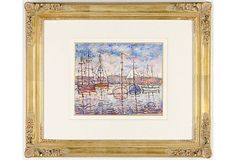 Paulémile Pissarro, Le Havre 1956 on OneKingsLane.com