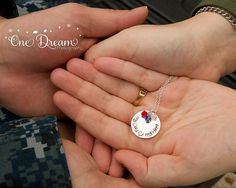 My Dad My Hero Hand Stamped Jewelry with by MotherDaughterJewel, $48.00