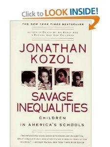 jonathan kozol savage inequalities essay