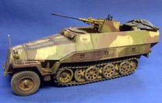 SdKfz 251/17 with 2cm Schwebelafette