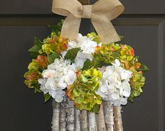 reserved for aimeeash spring wreath hydrangea wreaths welcome wreaths front door spring wreaths decorations