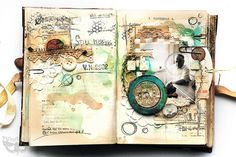 Sizzix Focus: Sailing through book pages... Odyssey Journal