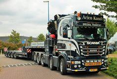 Scania R560. ZWAAR AUTO KRAAN