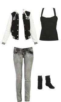 WetSeal.com Runway Outfit:  Homeroom Cutie by Straight Gloss. Outfit Price $115.00