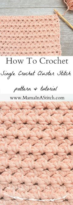 Hi friends! I love finding, new, simple and beautiful stitches. The tutorial that I found for this stitch actually wasn't working out for me so I had to write it a new way, and now I'm loving it. This simple stitch would be awesome for anything from scarves, to blankets to even dishcloths. You can use any yarn and corresponding hook for this pattern. I made washcloths and used some left over worsted weight Drops Paris #4 cotton yarn and a size G crochet hook. In fact, I chained 34 a...
