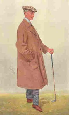 Mr H Mallaby-Deeley, 1909, Golf, Vanity Fair