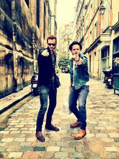 Ryan Tedder and Brent Kutzle! Love you.