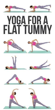a Flat Belly [VIDEO] Yoga for a flatter tummy? We'll take it!Yoga for a flatter tummy? We'll take it! Fast Weight Loss Diet, Quick Weight Loss Tips, Weight Loss Help, Weight Loss Program, Lose Weight At Home, How To Lose Weight Fast, Reduce Weight, Slimming World, Abs Workout Video