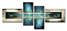 MA_005 / Cuadro Abstracto azul