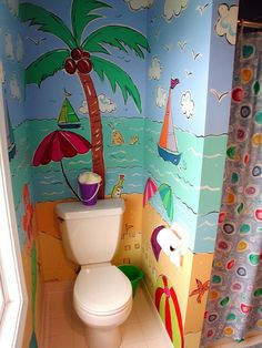 75 Pictures Of Beautiful Bathroom Remodels – Perfect For Pinterest.  A little much for me but fun for a kid's bath!