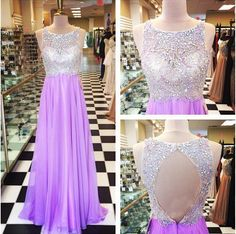 backless prom dresses, lilac prom dresses, long prom dresses, chiffon prom dresses, prom dresses 2017, cheap prom dresses