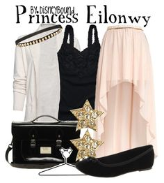 Princess Eilonwy by leslieakay on Polyvore featuring polyvore, fashion, style, MANGO, Hollister Co., Timeless, The Leather Satchel Co., Warehouse, Miss Selfridge, Disney and disney