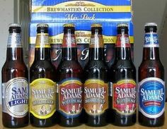 Sam Adams can do no wrong, and a lot of it is brewed in Cincinnati too!