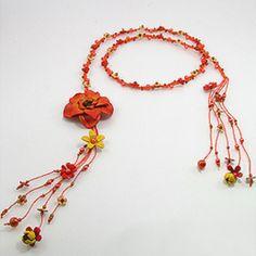 Curea piele orange - aceste accesorii hand made sunt versatile putand fi purtate si drept coliere. http://www.argintarie.ro/Curea-piele-orange-p-17101-c-379-p.html