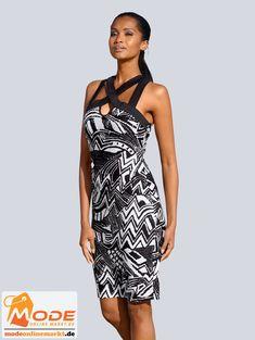 Kleid mit sommerlichem Ausschnitt in trendiger Guckloch Optik mit überkreuzten Bändern; zusätzlich apart ausgesch... #BAUR #AlbaModa #Rabatt #20 #Marke #Alba #Moda #Farbe #schwarz #weiß #Material #Elasthan #Viskose #Onlineshop #BAUR #Damen #Bekleidung #Damenmode #Kleider #Sale #Shirtkleider | sportliche Outfits, Sport Outfit | #mode #modeonlinemarkt #mode_online #girlsfashion #womensfashion One Shoulder, Shoulder Dress, Alba Moda, Sport Outfit, Mode Online, Formal Dresses, Material, Fashion, Athletic Outfits