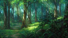 Forest, Dao Dao on ArtStation at https://www.artstation.com/artwork/LEKl0