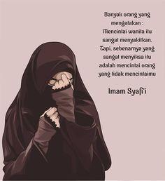 Motivasi Hidup Kartun Hijaber Muslimah Hijab Quotes, Muslim Quotes, Islamic Quotes, Text Quotes, Qoutes, Love Quotes, Inspirational Quotes, Wedding Love Songs, Cinta Quotes