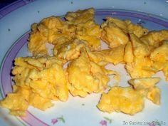 Ricetta delle uova strapazzate con varianti