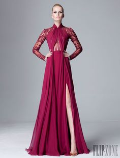 Zuhair Murad Pre-Otoño 2014 - Pret a porter - http://es.flip-zone.com/fashion/ready-to-wear/fashion-houses-42/zuhair-murad-4498