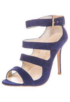 Sophie Gittins SIBELLA Sandalen met hoge hak Blauw