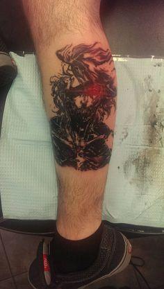 Raiden , MGS Tattoo