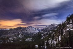 Stars Above the Gorge : Glacier Gorge, Rocky Mountain National Park : Images of Rocky Mountain National Park