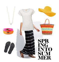 """cookout 5-29"" by bostonhibiscus on Polyvore featuring Charlotte Russe, White Stuff, Rebecca Minkoff, Havaianas, Sensi Studio, Accessorize and Liza Schwartz"