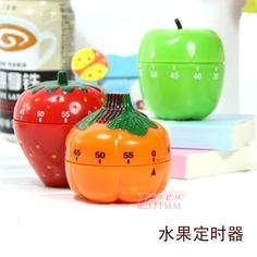 Wholesale 60 minutes Dial cooking timer Kitchen timer Green apple 6.7*7.7cm Free shipping-inKitchen Timers from Home  Garden on Aliexpress.com $5.98