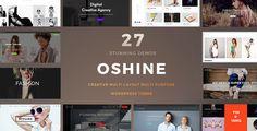 Oshine es un popular y creativo tema de WordPress utilizado por más de 18,000 clientes en todo el mundo. Desde Portafolio, Fotografía, Agencia, Blog, Arquitectura, Negocio o Tienda, construya hermosos sitios web para cualquier propósito con facilidad.