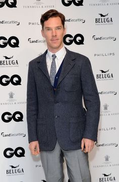 Benedict Cumberbatch - Arrivals at the GQ 25th Anniversary