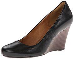 Clarks Women's Purity Crystal Wedge Pump,Black Leather,6.5 M US Clarks http://www.amazon.com/dp/B00HR8JNZQ/ref=cm_sw_r_pi_dp_v-rCvb0GA5ADB