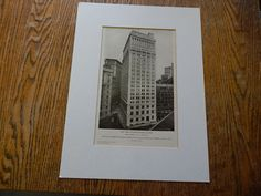 ... Nyack, New York 1911, Lithograph. Donn Barber Barbers, New York and