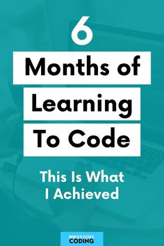 So you're thinking about learning to code from scratch? Congrats! In this article, I share my experience of learning computer programming and web development with no experience, using beginner-level tutorials and free online courses, practising my skills by building small coding projects, and creating a portfolio website step-by-step. #mikkegoes #coding #programming #tech #learntocode #education #homelearning #webdevelopment #developer Learn Computer Coding, Learn Computer Science, Learn Coding, Learn Programming, Computer Programming Courses, Coding For Beginners, Coding Courses, Learning Web, Creating A Portfolio