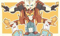 Drift, Rodimus Prime & Ultra Magnus.