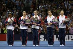 2012 Women's Olympic Gymnastics Team USA