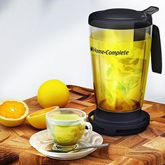 Perfect Loose Tea Maker -22 Oz Smart Bottom Dispensing Tea Infuser Teapot - Different From Teavana Ingenuitea Or Adagio -Built In Filter Strainer For Loose Leaf Tea Cup, 2015 Amazon Top Rated Beverage Serveware #Kitchen