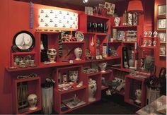 Fornasetti Showroom. Milano, Italy