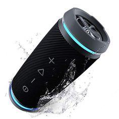 Outdoor Waterproof Bluetooth Speaker,Kunodi Wireless Portable Mini Shower Tra...