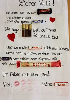 DIY Vatertagsgeschenk DIY Vatertagsgeschenk The post DIY Vatertagsgeschenk appeared first on Geburtstagsgeschenk. The Effective Pictures We Offer You About diy gifts for home A quality picture can tel Diy Father's Day Gifts Easy, Diy Gifts For Friends, Father's Day Diy, Gifts For Dad, Easy Diy, Birthday Gifts For Girlfriend, Mom Birthday Gift, Boyfriend Birthday, Diy Couture Cadeau