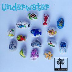 Geschichte-Steine Unterwasser von LittlebyNature auf Etsy