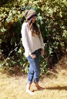 slouch hat slouchy hat fall hat autumn hat by SimplyCuteCrochet, $35.00