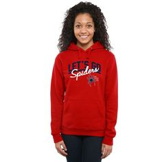 Richmond Spiders Women's Let's Go Pullover Hoodie - Red - $44.99