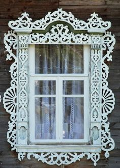 Located inTver, Russian folk art 19th century ~ Wonderful gingerbread trim!: